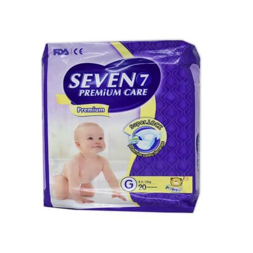 Pañal Seven 7 Infantil x 20