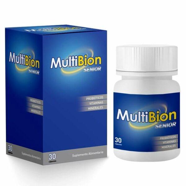 Multibion Senior (Vitaminas + Probióticos)