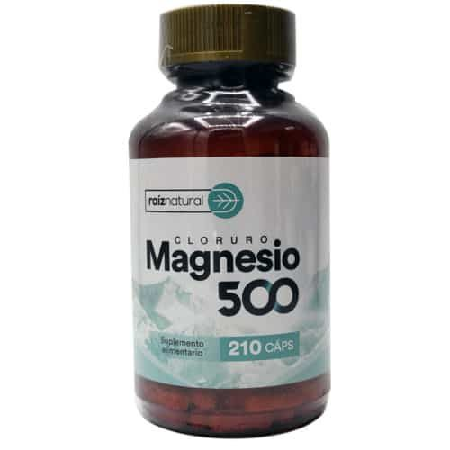 Cloruro de Magnesio (210 cápsulas)