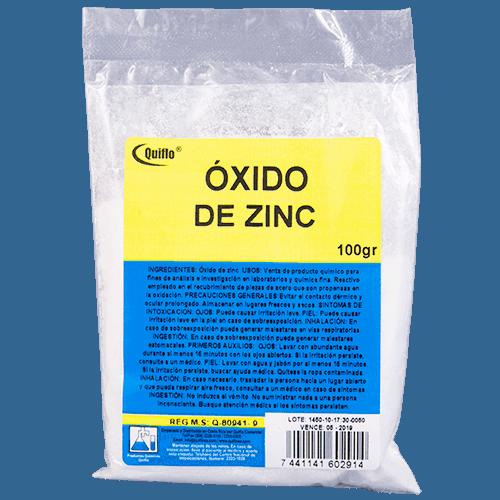Oxido Zinc 100 gr