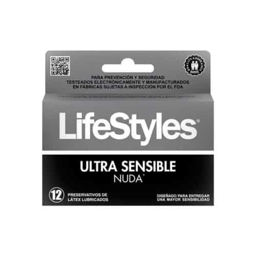 Preservativo Life x 3 Nuda