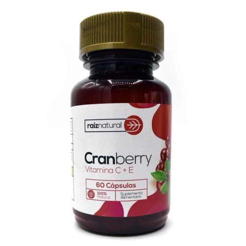 Cranberry Vit. C + E x 60 cápsulas