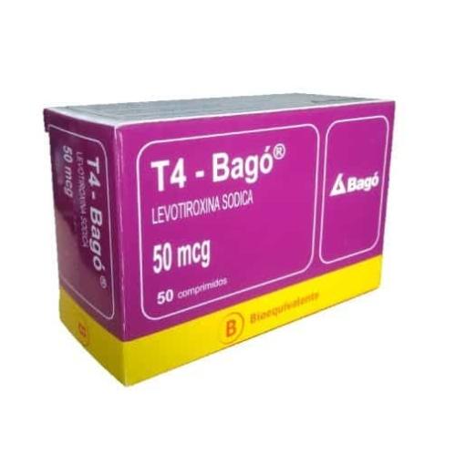 T4 50 mg x 50