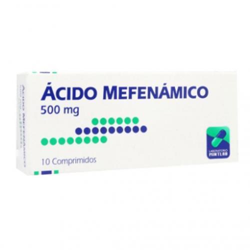 Ácido Mefenámico 500mg X 10 comprimidos (mintlab)