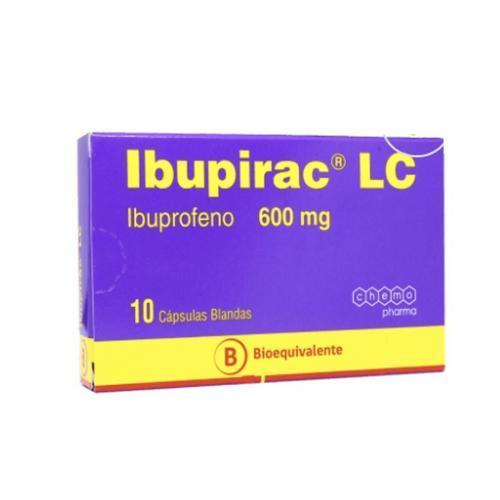 Ibupirac Lc 600Mg X 10