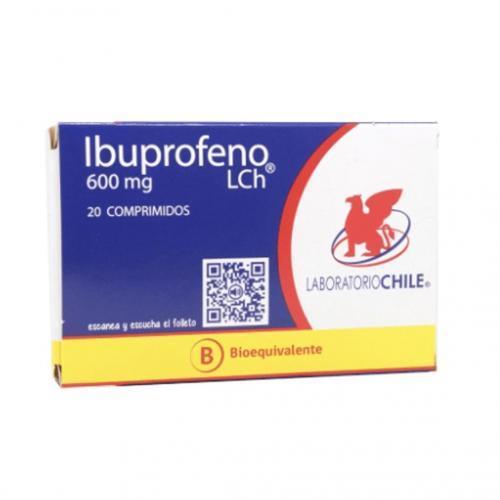 Ibuprofeno 600 mg X 20 comprimidos (LCH)