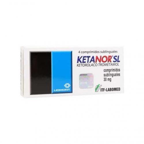 Ketanor Sl 30Mg X 4 Sublingual