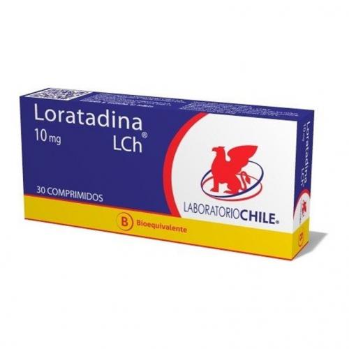 Loratadina 10 mg x 30 comprimidos (LCh)
