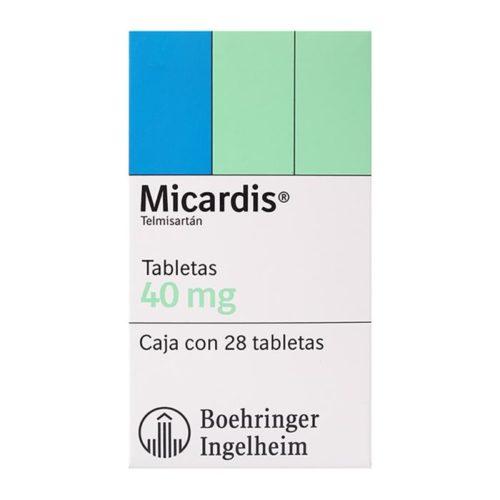 Micardis 40 mg X 28 comprimidos (BOEHRINGER)