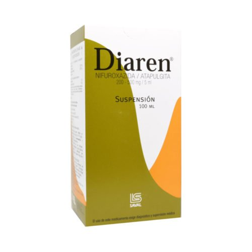 Diaren Suspensión 100mL (Saval)