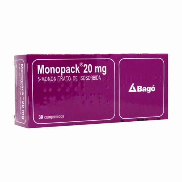 Monopack 20 mg x30 Comprimidos (Bagó)