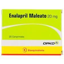 Enalapril 20 mg x 20 comprimidos (Opko)