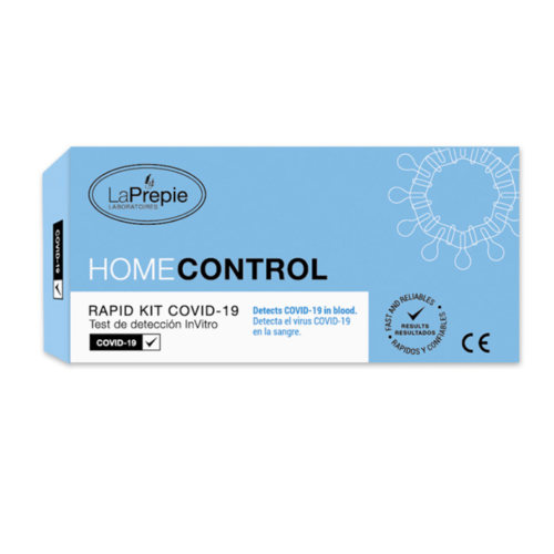 Test Rápido Covid 19 Homecontrol