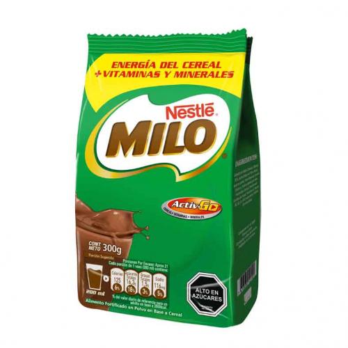 Milo en Polvo Bolsa 300 g
