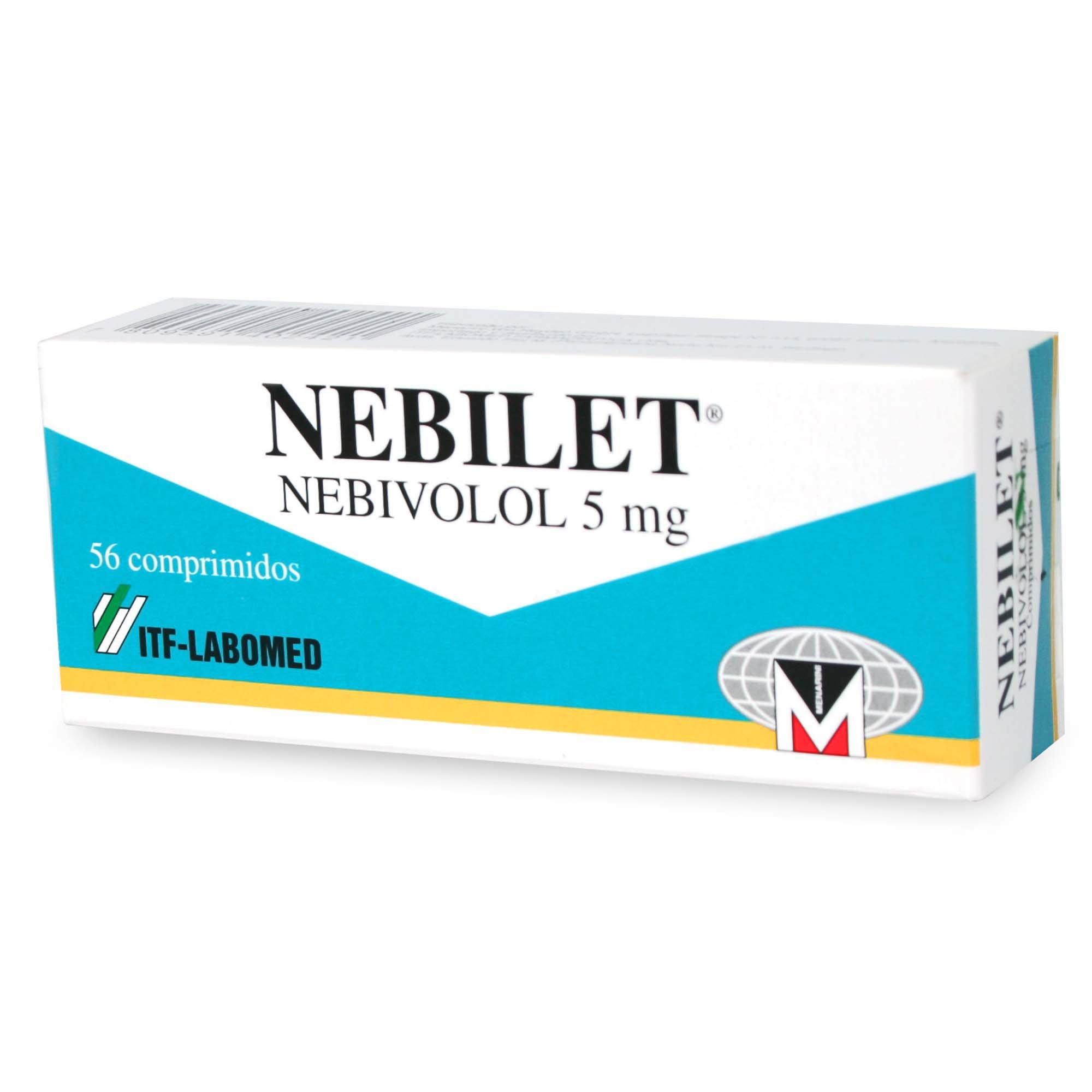 Nebilet  5mg x 28 comprimidos