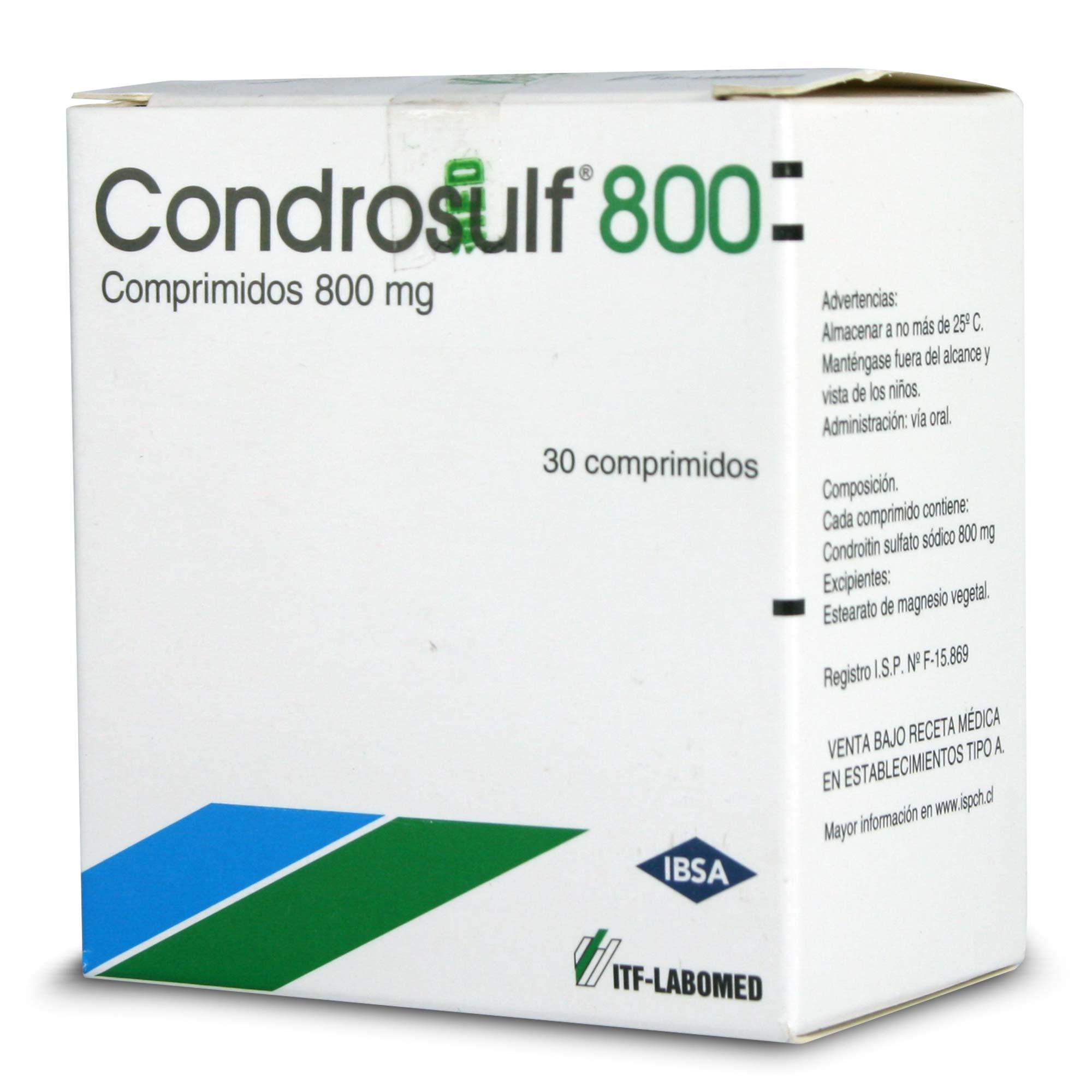Condrosulf 800mg x 30 comprimidos