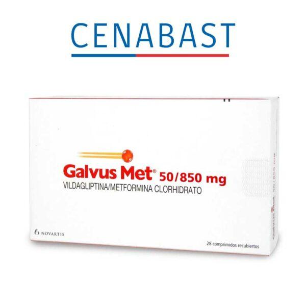 Galvus Met 50/850 x 28 comprimidos CENABAST