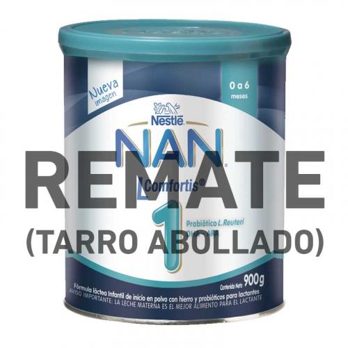 REMATE- NAN L Comfortis 1 (Tarro Abollado) 900 g