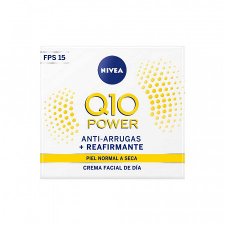 Crema Facial Antiarrugas Q10 Power Dia Fps20  50 mL