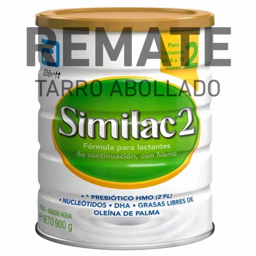 REMATE Similac 2 900g (Tarro Abollado)
