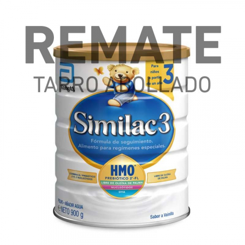 REMATE Similac 3 (Tarro Abollado) 900 g