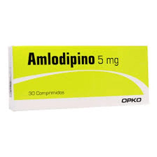 Amlodipino 5 x 30 (OPKO)