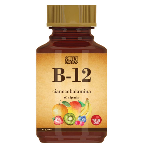 Vitamina B-12 x 60 cápsulas Green Roots