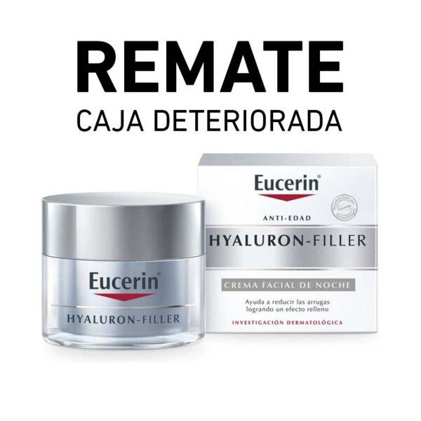 REMATE Eucerin HYALURON-FILLER Crema noche (Caja deteriorada)