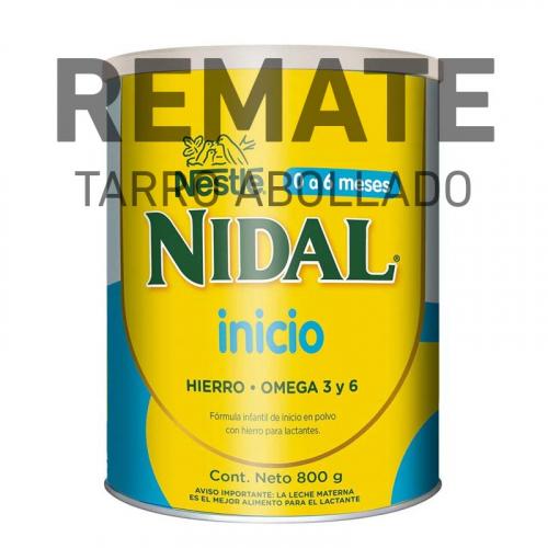 REMATE – Nidal Inicio 0 a 6 meses 800 g (Tarro Abollado)