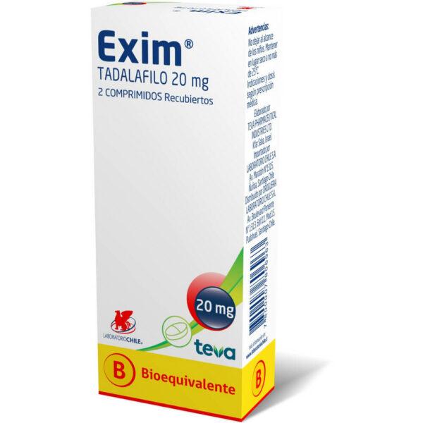 Exim 20 mg x 2 Comprimidos Recubiertos