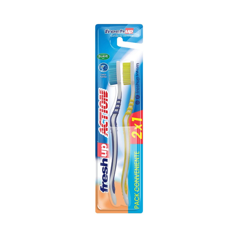 Cepillo Dental Medio Fresh Up 2 Und