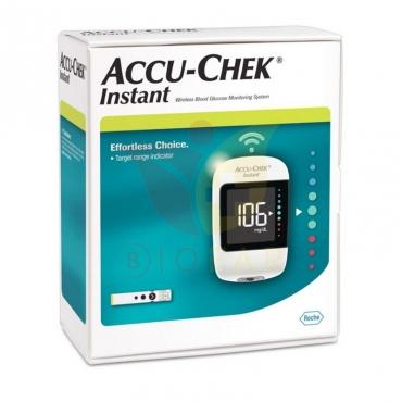 Pack Glucometro Accu-chek® Instant + Lancetas + Estuche