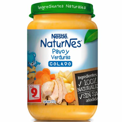 Colado Naturnes Nestle Pavo y Verduras 215 g