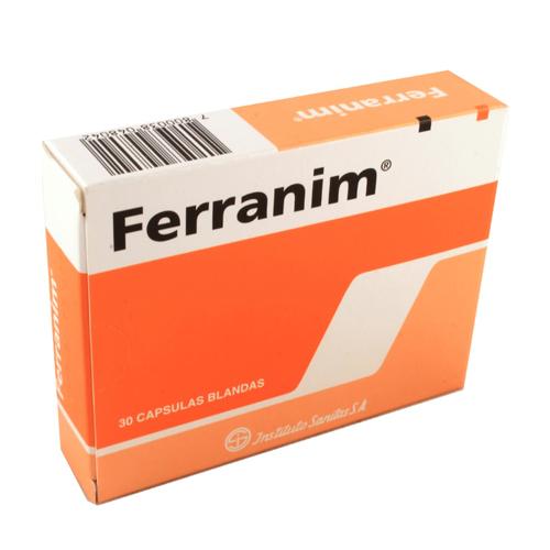 Ferranim x 30 Cápsulas (Sanitas)
