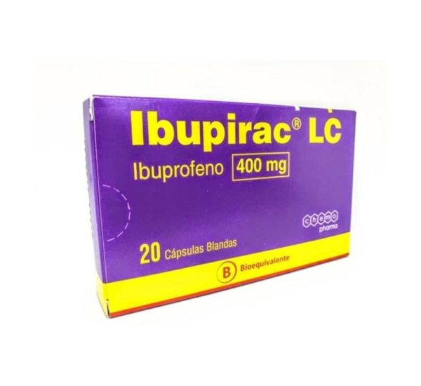 Ibupirac Lc 400Mg X 20 comprimidos (Chemofarma)