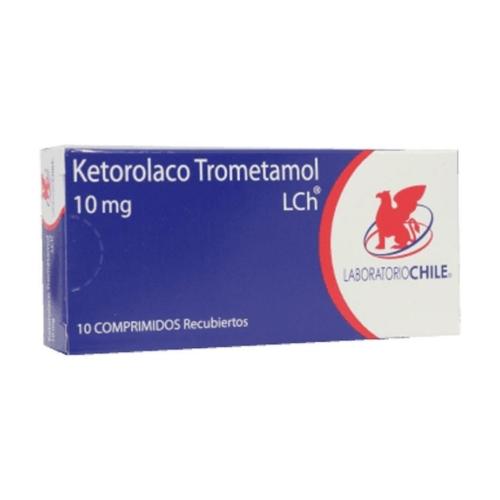 Ketorolaco 10mg X10 comprimidos recubiertos (LCH)