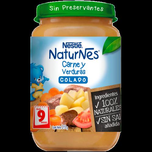 Colado Naturnes Carne y Verduras 215 g
