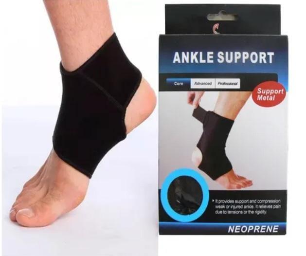 Tobillera Ortopédica Abierta Ajustable Con Doble Velcro 1 Un