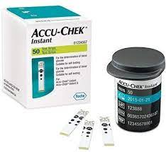 Accu Check Instant 50 Cintas Tiras Reactivas