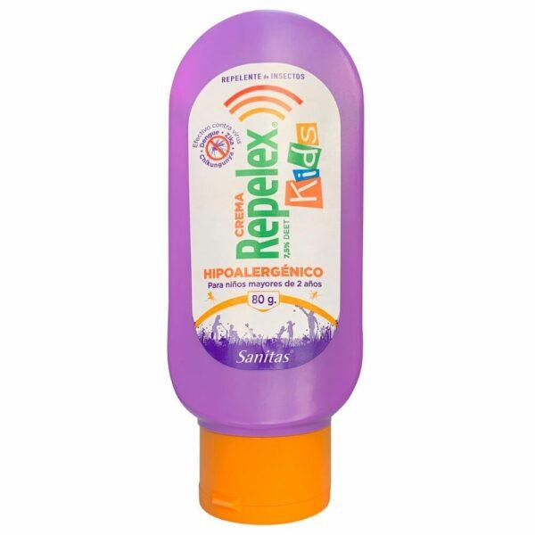 Repelex Kids Crema 2 Hrs Protección 7,5% Deet 80gr