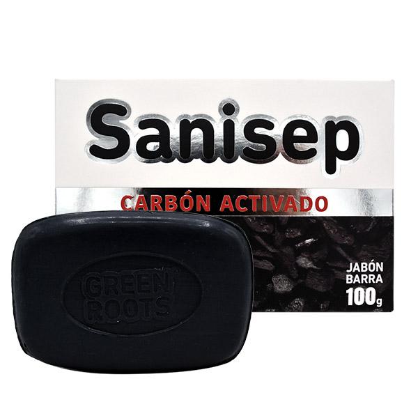 Jabón Carbón Sanisep (Elimina Impurezas)