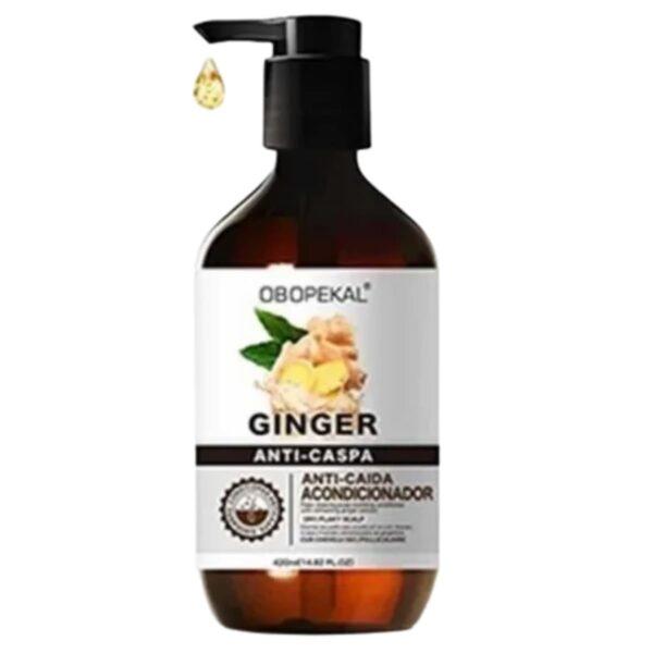Acondicionador Ginger Jengibre Anticaspa Anticaida Obopekal 420 Ml