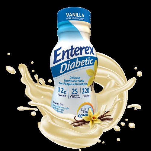 Enterex Diabetic Vainilla 237 Ml